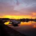 Photos: 夕焼け漁港