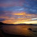 Photos: 金色の夕焼け雲