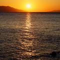 Photos: 海峡の夕陽