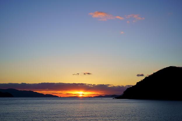 Photos: 夕焼雲浮かんで
