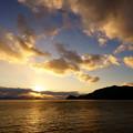 Photos: 夕陽か雲か