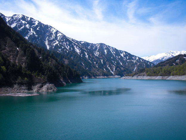 黒部 ダム湖