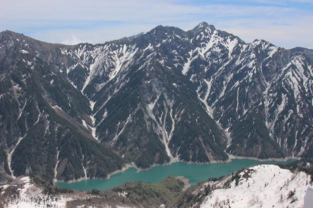 黒部ダム湖