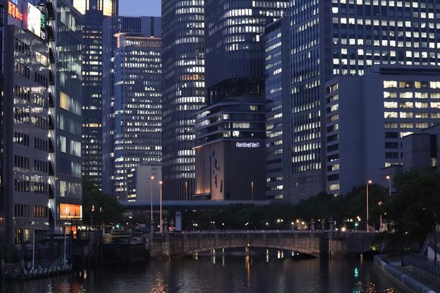 大阪中之島の夜景