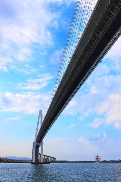 新湊大橋(富山県射水市)
