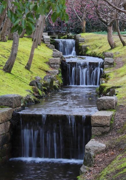 梅林の三段滝