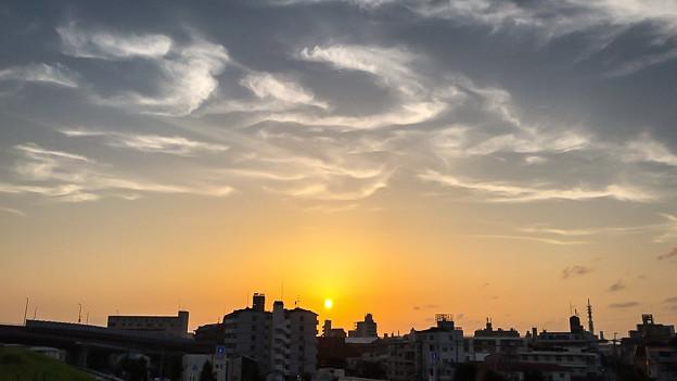雲画伯が描いた空