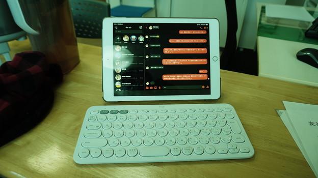 iPad+Bluetoothキーボード