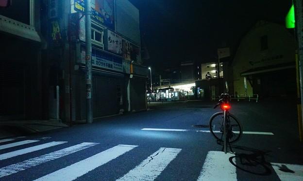 青い光の中で…1