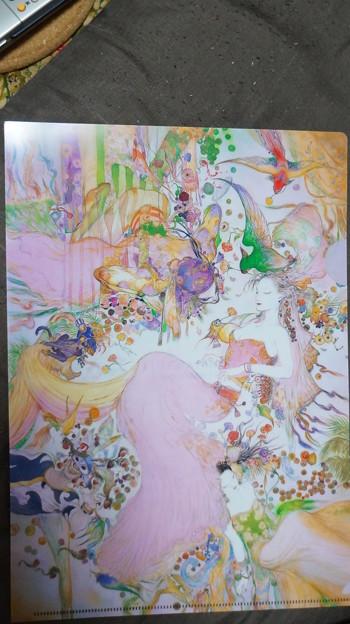DSC01353 天野義孝氏、版画より…。