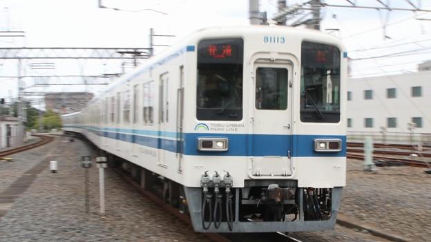 東武8000 at 春日部