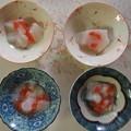 写真: 本葛粉で作ったトマトゼリー