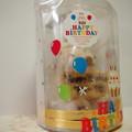 写真: 誕生日ケーキ 冷気でくもってる