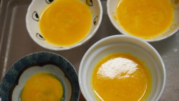 ワンちゃんのかぼちゃスープ