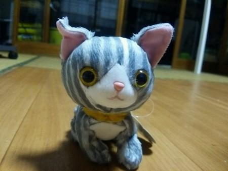 ネコのぬいぐるみ0422
