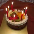 写真: バースデーケーキ0604