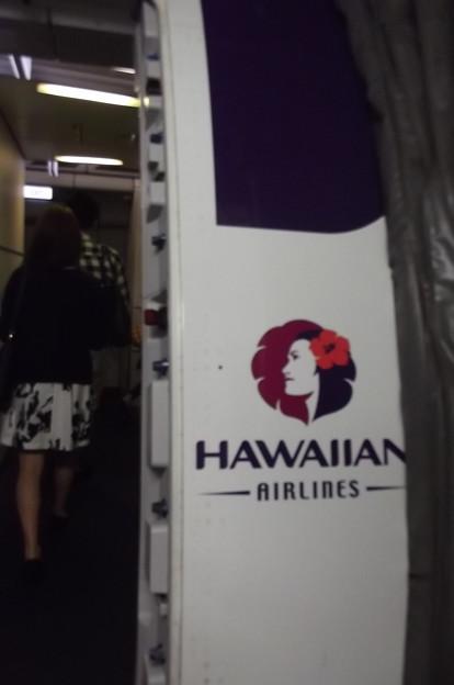 写真: ハワイアン航空0619
