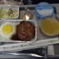 写真: ハワイアン航空・機内食0619