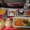 写真: JAL機内食1015