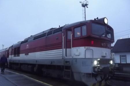 スロバキア鉄道0125
