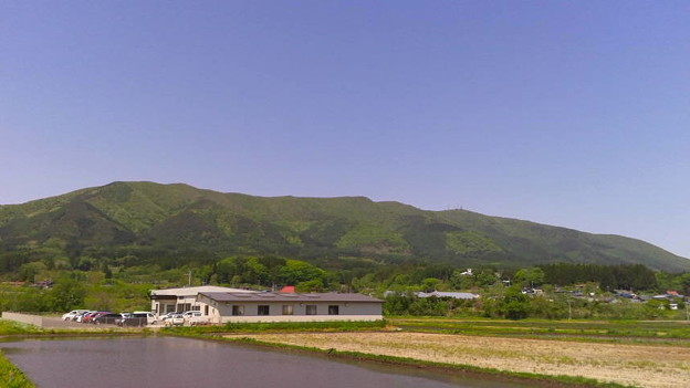 快晴の岩手県九戸村