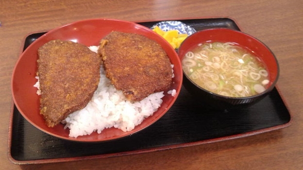 写真: ソースカツ丼@福井県福井市、オレボステーション フェニックス店