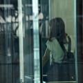 写真: エレベーターのすれ違い