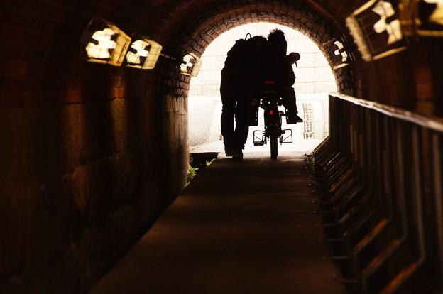 Photos: 自転車は降りること