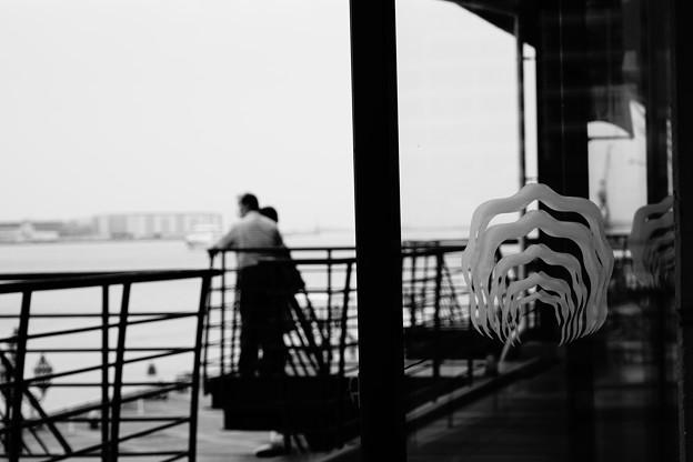港のオイスターバー
