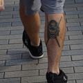 Photos: 強そうな足