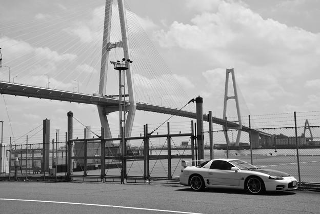 金城埠頭と愛車