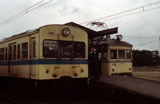Ichibata / 一畑電気鉄道、182号と23号