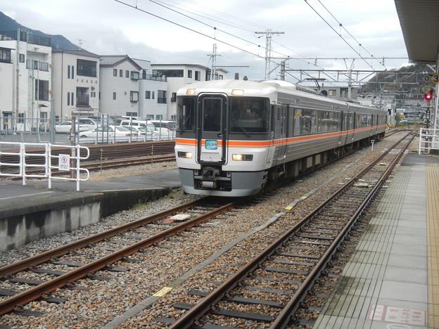 EMU 373 on Minobu line [Fujikawa Express]