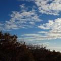 写真: 大江山・航空管制塔より望む秋空