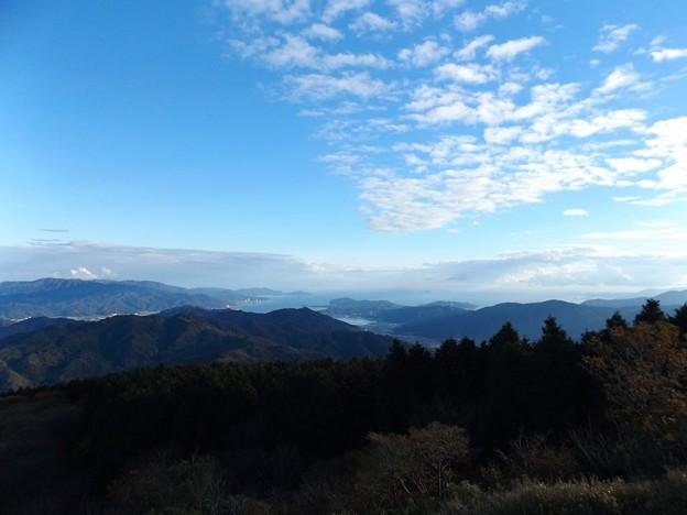 Photos: 大江山・航空管制塔より宮津方面を望む