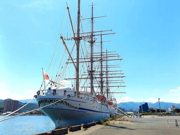 帆船・日本丸(2)