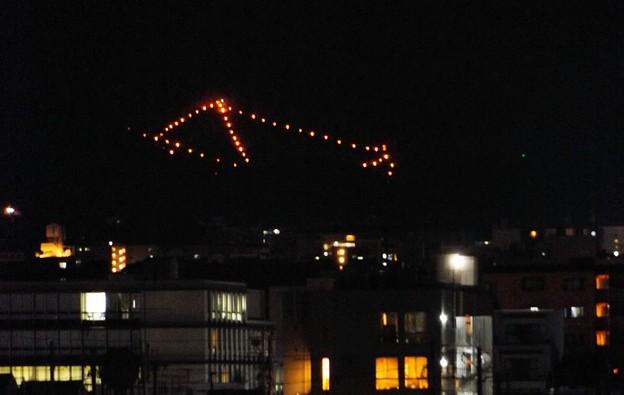京都・五山の送り火(2)