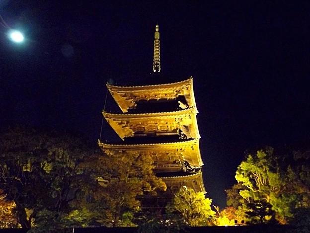 東寺・五重塔ライトアップ(1)