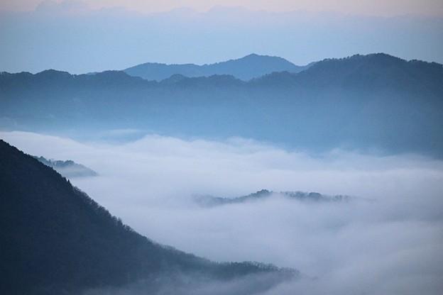 立雲峡から望む雲海(2)