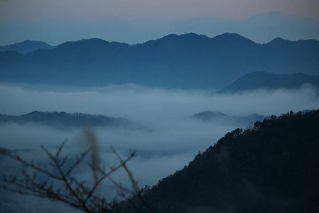 立雲峡から望む雲海(4)