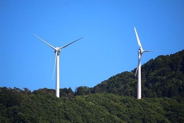 太鼓山風力発電(2)