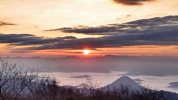 日の出と雲海~大江山~