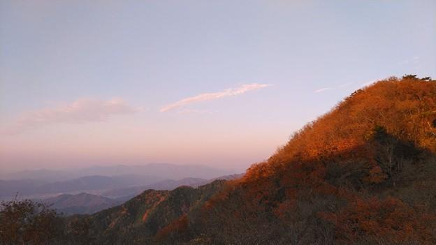 秋の大江山 夕景(1)