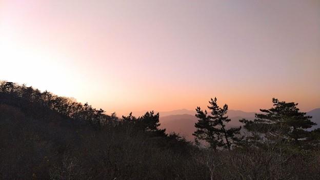 秋の大江山 夕景(2)