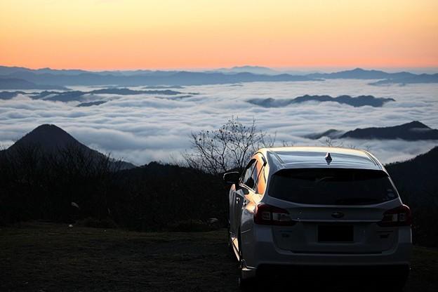 雲海を愛車と共に(2)
