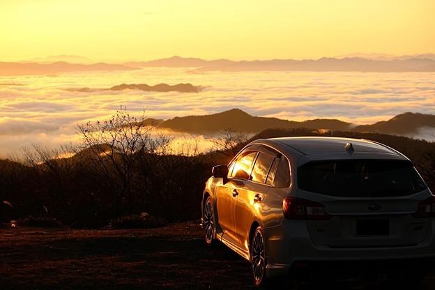 雲海を愛車と共に(3)