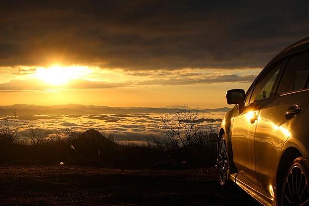 雲海を愛車と共に(4)