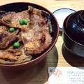写真: 帯広のグルメ 170530 「ぶたはげ」の豚丼