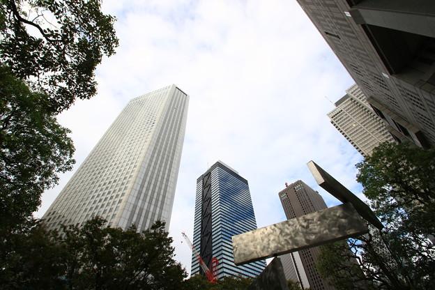 西新宿高層ビル群 191015 03
