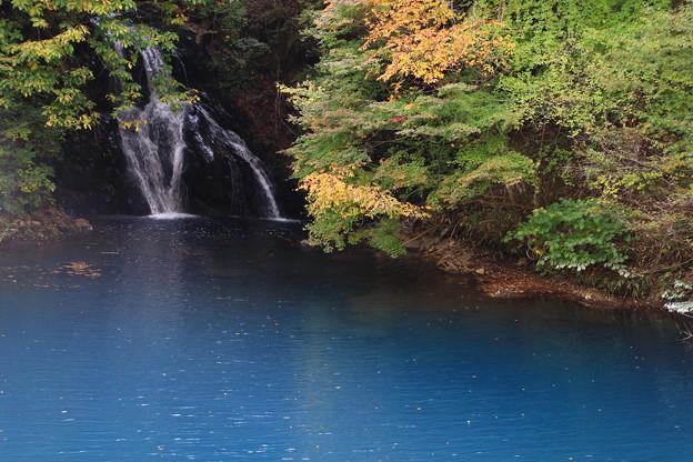 桃太郎の滝 201027 01